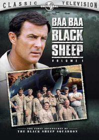 Baa Baa Black Sheep Vol 1 - (Region 1 Import DVD)