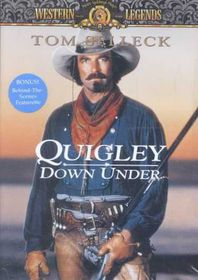 Quigley Down Under - (Region 1 Import DVD)