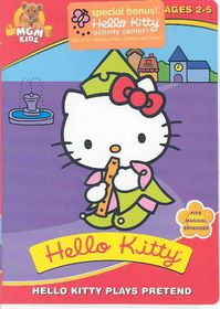 Hello Kitty Plays Pretend - (Region 1 Import DVD)