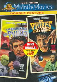 Abominable Dr. Phibes/Dr. Phibes Rises Again - (Region 1 Import DVD)