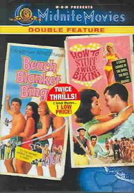 Beach Blanket Bingo/How To Stuff A Wild Bikini - (Region 1 Import DVD)