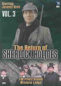 Return of Sherlock Holmes:Priory - (Region 1 Import DVD)