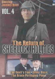 Return of Sherlock Holmes - Vol. 4: The Devil's Foot/Silver Blaze/The Bruce Partington Plans - (Region 1 Import DVD)