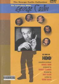George Carlin on Location - (Region 1 Import DVD)