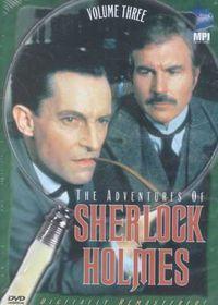 Adventures of Sherlock Holmes Vol. 3 - (Region 1 Import DVD)