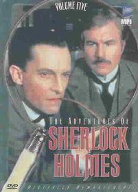 Adventures of Sherlock Holmes Vol. 5 - (Region 1 Import DVD)