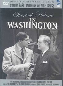 Sherlock Holmes:in Washington - (Region 1 Import DVD)
