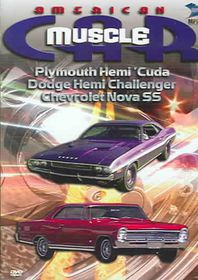 American Muscle Car - Plymouth Hemi Cuda/Dodge Hemi Challenger/1968 Chevrolet Nova SS - (Region 1 Import DVD)