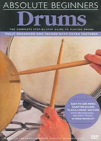 Absolute Beginners Drums - (Region 1 Import DVD)