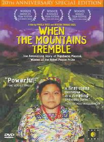 When the Mountains Tremble - (Region 1 Import DVD)
