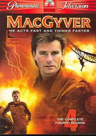 MacGyver: The Complete Fourth Season (Region 1 Import DVD)