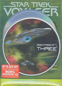 Star Trek:Voyager Complete Third - (Region 1 Import DVD)