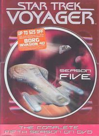 Star Trek:Voyager Complete Fifth - (Region 1 Import DVD)
