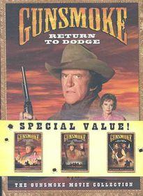 Gunsmoke Movie Collection 3pk - (Region 1 Import DVD)
