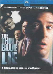 Thin Blue Lie - (Region 1 Import DVD)