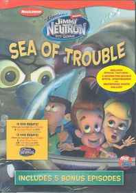 Jimmy Neutron:Sea of Trouble - (Region 1 Import DVD)