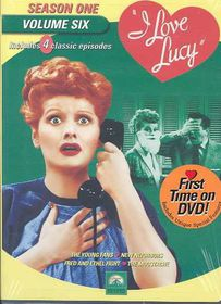I Love Lucy:Season One Vol 6 - (Region 1 Import DVD)