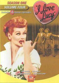 I Love Lucy:Season One Vol 4 - (Region 1 Import DVD)