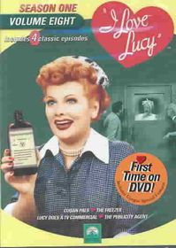 I Love Lucy:Season One Vol 8 - (Region 1 Import DVD)
