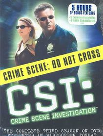 CSI:Complete Third Season - (Region 1 Import DVD)