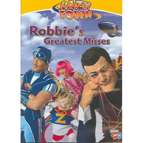 Lazytown:Robbie's Greatest Misses - (Region 1 Import DVD)