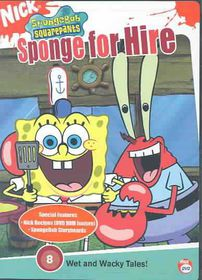 Spongebob Squarepants - Sponge for Hire - (Region 1 Import DVD)