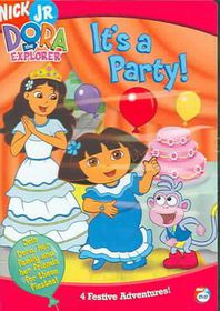 Dora the Explorer:It's a Party - (Region 1 Import DVD)