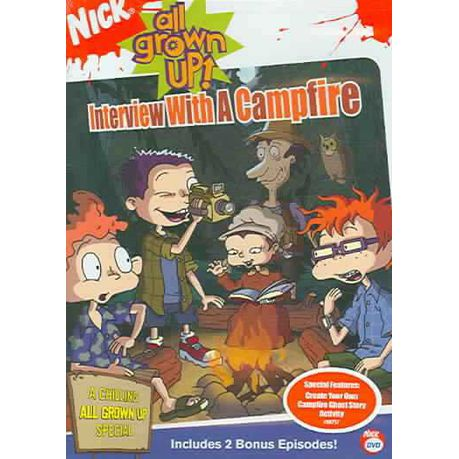 Rugrats All Grown Up Interview With A Campfire Region 1 Import Dvd