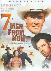 Seven Men from Now - (Region 1 Import DVD)