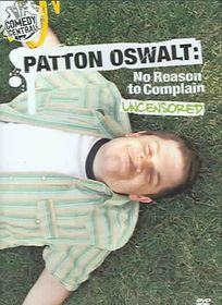 Patton Oswalt:No Reason to Complain - (Region 1 Import DVD)