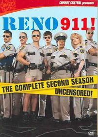 Reno 911: The Complete Second Season Uncensored - (Region 1 Import DVD)