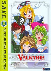 Ufo Ultramaiden Valkyrie:Ssn3&4 Save - (Region 1 Import DVD)