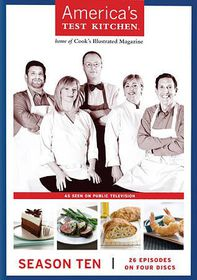 America's Test Kitchen Season 10 - (Region 1 Import DVD)