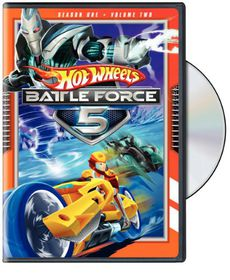Hot Wheels Battle Force 5:S1v2 - (Region 1 Import DVD)