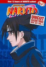 Naruto Uncut Ssn 3 Box Set V1 - (Region 1 Import DVD)