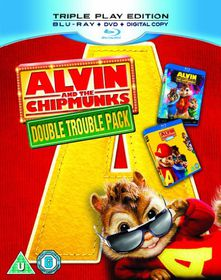 Alvin and the Chipmunks 1 & 2 - (Import Blu-ray Disc)