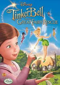 Tinker Bell and the Great Fairy Rescu - (Region 1 Import DVD)