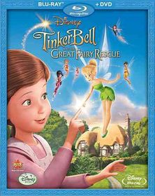 Tinker Bell and the Great Fairy Rescu - (Region A Import Blu-ray Disc)