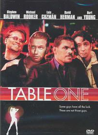 Table One - (Region 1 Import DVD)