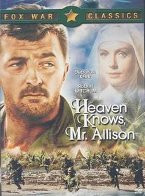 Heaven Knows Mr. Allison - (Region 1 Import DVD)