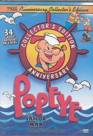 Popeye:75th Anniversary - (Region 1 Import DVD)