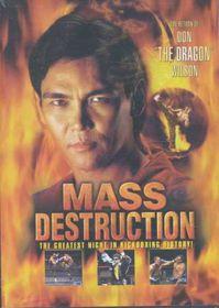 Mass Destruction - (Region 1 Import DVD)