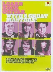 Learn Rock Guitar With 6 Great Masters! - (Region 1 Import DVD)