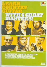 Learn Country Guitar With 6 Great Masters! - (Region 1 Import DVD)