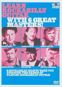 Learn Rockabilly Guitar with 6 Great - (Region 1 Import DVD)