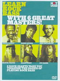 Learn Rock Bass with 6 Great Masters - (Region 1 Import DVD)