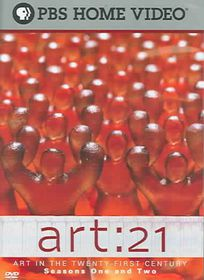Art: 21 Art In The Twenty-First Century Seasons 1&2 - (Region 1 Import DVD)