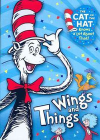 Cat in the Hat:Wings and Things - (Region 1 Import DVD)