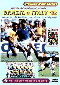 Brazil vs Italy, 1982 World Cup - (Import DVD)
