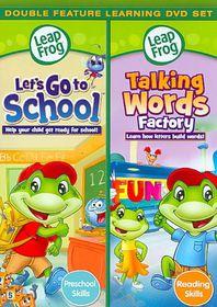 Leapfrog:Let's Go to School/Talking W - (Region 1 Import DVD)